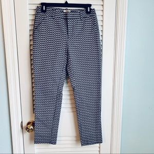 Navy and Grey cropped pant